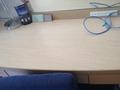 机はじゅうぶんな広さ