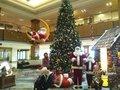 クリスマスのロビー