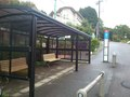 パンシオン前無料シャトルバスのバス停