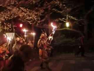 橘神社の観櫻火宴