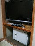 TVと金庫