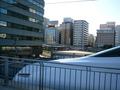 新幹線のホームから見えます