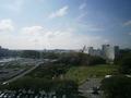 部屋からの眺め(朝)