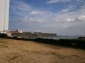 駐車場から見える灯台