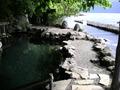 水深が変わる露天風呂