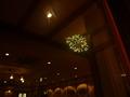 夕食会場から見た花火