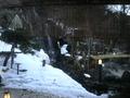 滝のある露天風呂