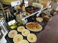 朝食バイキング、和食コーナー
