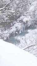 絶景白ひげの滝