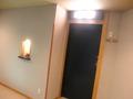 部屋の入口です。