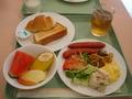 1泊目の朝食です。