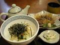 福岡市中央卸売市場・鮮魚市場内の味処・海鮮で朝食を食べました。