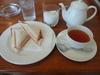 ホットサンドと紅茶のセット