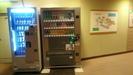自動販売機と案内図