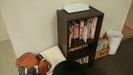 娯楽室の本棚