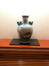 飾られている壺