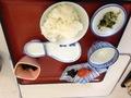 太平温泉 朝食です。