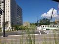 ホテル出てすぐに熊本駅です!