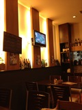 レストラン内 TVもありますよ!