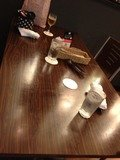 テーブル写真です。
