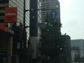 ホテル前の交差点になります。