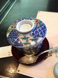 茶碗蒸しのお椀が高級感ありますね。