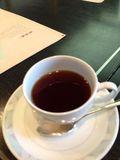 ドリンクはホットコーヒーにしました。