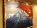 日馬富士が書いた絵画だそうです!