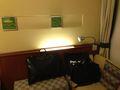 ベッド ライト 写真です。