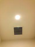 トイレ 照明 写真です。