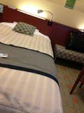 ホテル ベッドです。