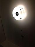 部屋 照明写真です。