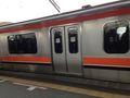 舞浜駅 電車写真です。