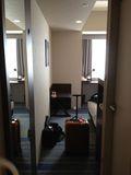 部屋 入ってすぐに撮った写真です。