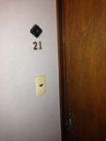 部屋 入り口 写真 です。