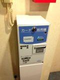 有料テレビのカードは各階のエレベーター前に設置してありますよー