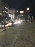 ホテル前大通り写真です。
