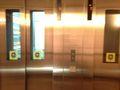 エレベーターは2機ありますので、混雑時に助かりますね。