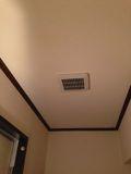 部屋 空調 写真です。