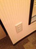 部屋 スイッチ 写真です。