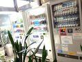 1F ロビー にて、自販機あります。