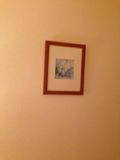 お部屋におしゃれな絵画がありますね!
