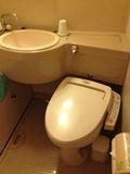 ホテル トイレ 写真です。