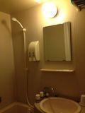 ホテル お風呂 写真です。