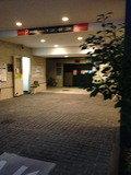 ホテル駐車場です。