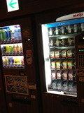 温泉フロアに自販機あります!