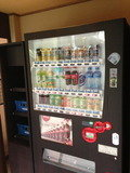 温泉階にジュース自販機です!