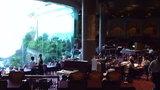 夕食は豪華会場で