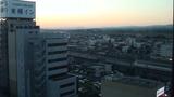 夕焼けにそまる掛川