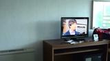 テレビは小さい・・・